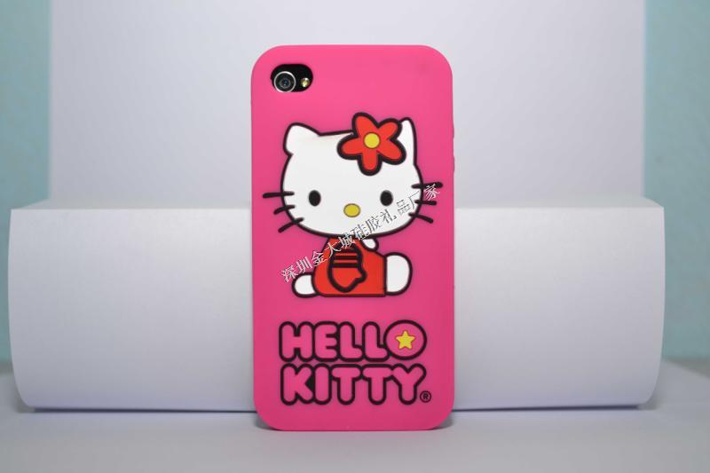 甜美猫手机套