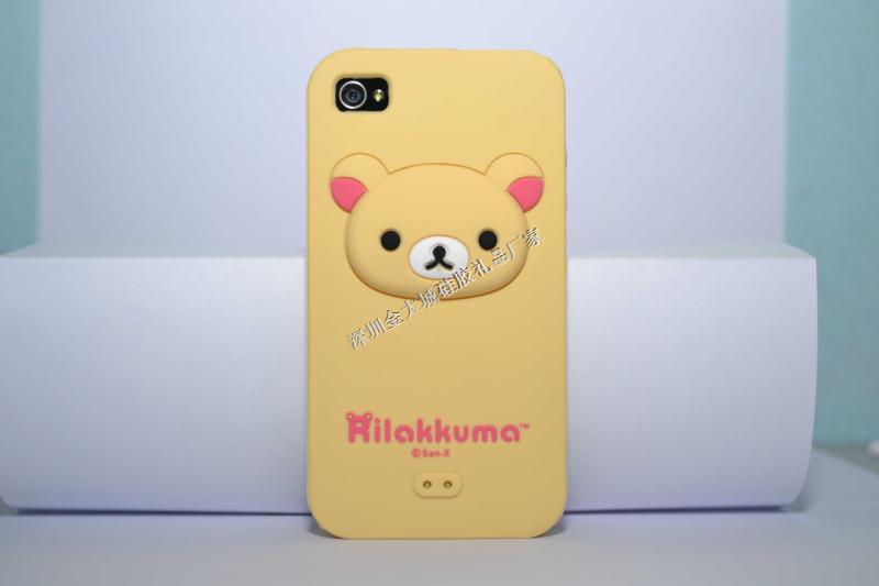 iphone4s硅胶手机套