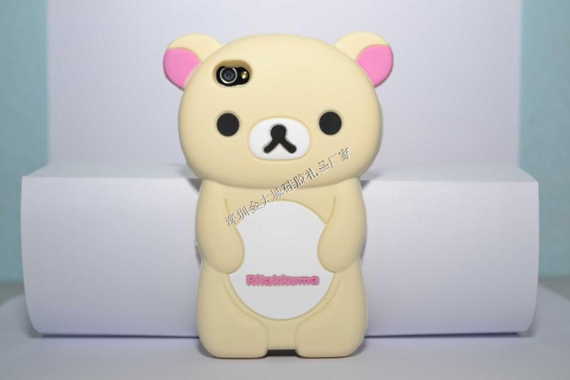 轻松熊手iphone5C保护壳