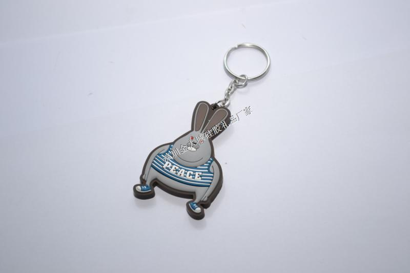 小动物钥匙扣