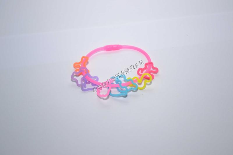 镂空花纹硅胶手环