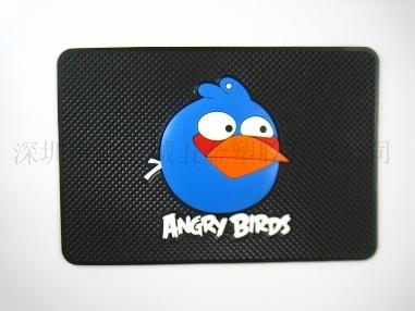 可爱小鸟车载手机防滑垫